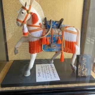 奉書飾り馬、別名幸運の馬、美品