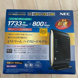中古 無線LANルーター NEC PA-WG2600HP2