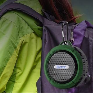 防水 スピーカー bluetooth 吸盤 フック付 ワイヤレス
