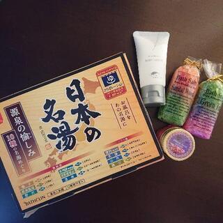 ☆入浴剤10種!+バスソルト2個!「日本の名湯入浴剤10種♨️ ...