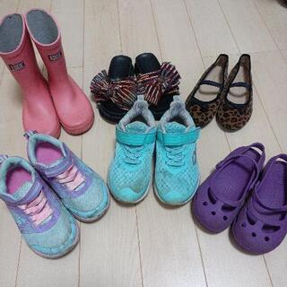 女の子 靴 17センチ 18センチ