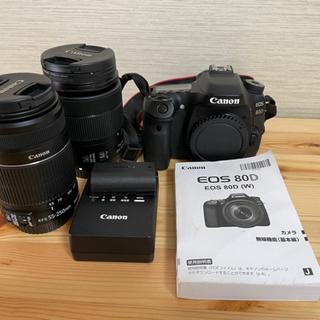 Canon EOS 80D レンズ付