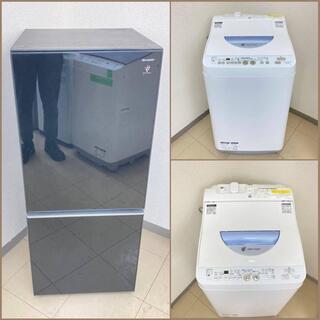 【地域限定送料無料】【国産セット】冷蔵庫・洗濯機 CRS0…