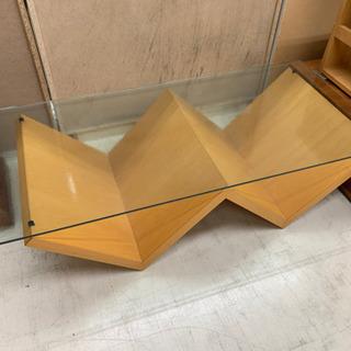 アルフレックス ガラスセンターテーブル ローテーブル 座卓 Y10