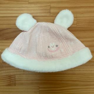 ミキハウス うさ耳帽子