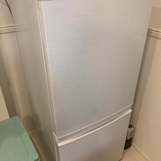 SHARP 冷蔵庫 SJ-14 ホワイト  あげます 静岡東部 ...