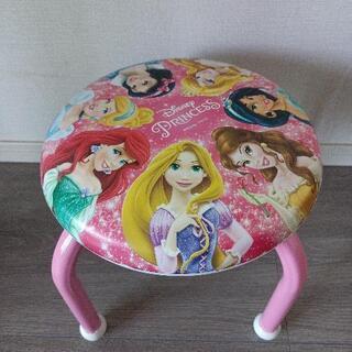 ディズニープリンセス 子供用の椅子
