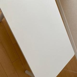 【ネット決済】白いローテーブルお売りします!