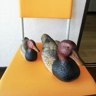 親子鴨の焼き物