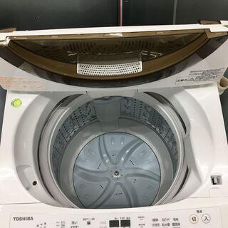 ■東芝 AW-6D6 全自動電気洗濯機 6.0kg 2018年製