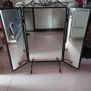 IKEA、オシャレ三面鏡