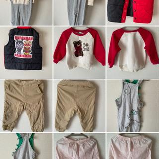 子供の服(秋と冬の6着)