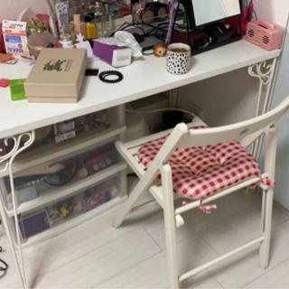 【ネット決済】テーブルと椅子セット