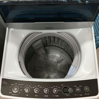 ■ハイアール 全自動電気洗濯機 JW-C55A 5.5kg 20...