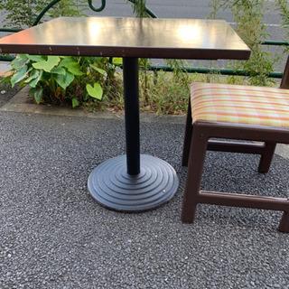 店舗用品 《アンティーク ダイニングテーブル7×椅子×14…