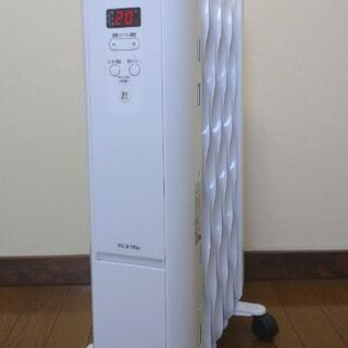 美品✨ウェーブ型オイルヒーター(アイリスオーヤマIWH2-120...