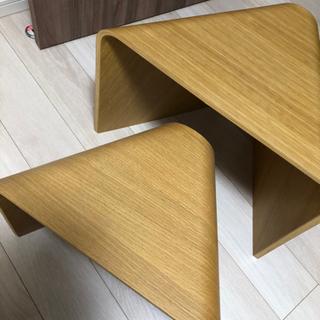 【ネット決済】無印良品 重なるテーブルベンチ