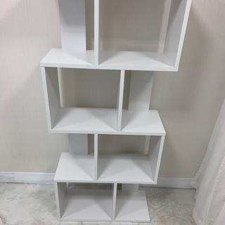 飾り棚 ホワイト 無料