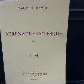 ラヴェル グロテスクセレナーデ サラベール社 輸入楽譜 ピアノ