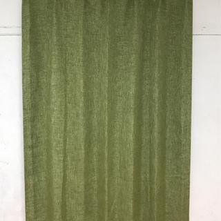 ニトリ 遮光カーテン レーナ グリーン 100×178
