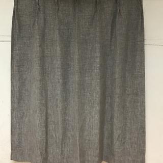 ニトリ 遮光カーテン レーナ グレー 100×140 2枚セット