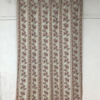 遮光カーテン バラ 100×178 2枚セット