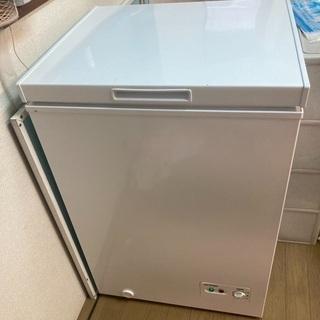 アイリスオーヤマの冷凍庫 稼働品 570x550x850