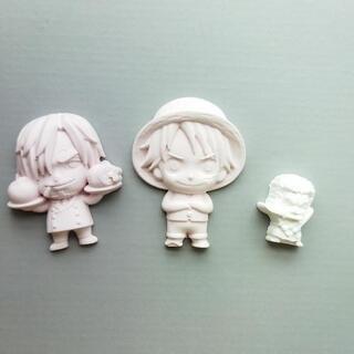 石膏のワンピースのキャラクター