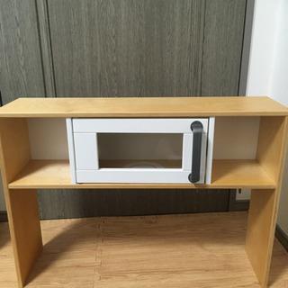 IKEA おままごとキッチン 上部パーツ 食器棚 DUKT…