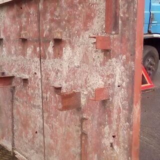 ワイド2トン車幅サイズの16ミリ鉄板5万円売り送料込み