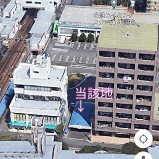 名鉄住吉町駅前40坪の土地時間貸し「安全タクシーコミュニティラン...