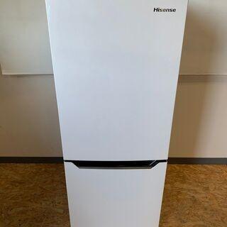 【Hisense】ハイセンス 2ドア 冷凍 冷蔵庫 容量150L...