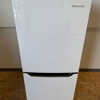 【Hisense】ハイセンス 2ドア 冷凍 冷蔵庫 容量130L...