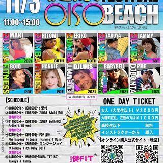 Oiso Beach Kenko fitness Festival