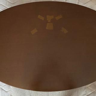 楕円形 センターテーブル