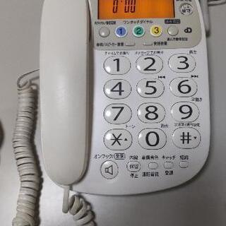 シャープ 留守番電話