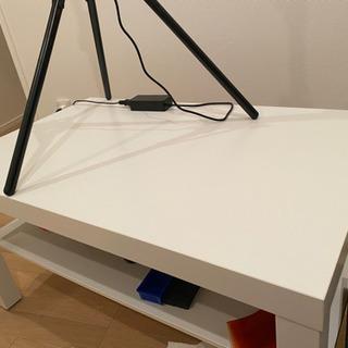 ニトリテレビ台&IKEAテーブル