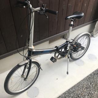 お取引中 ダホン    折りたたみ自転車 6速 現状出品