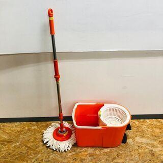 【アイリスオーヤマ】 回転モップ 掃除用具