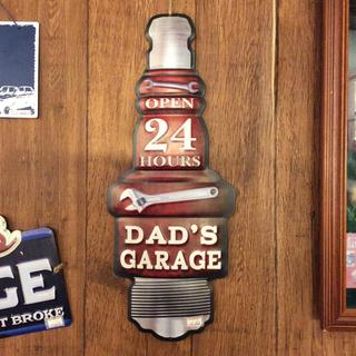 アウトレット品 サインボード DAD'S GARAGE
