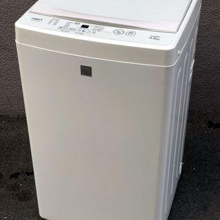 ㉑【6ヶ月保証付・税込み】美品 アクア 5kg 全自動洗濯…