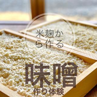 米麹作り!そしてその麹で味噌作り体験! 他ではなかなか味わえない...