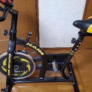 スピンバイク フィットネスバイク ハイガー 美品