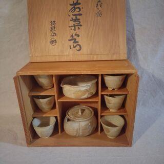 萩焼 煎茶器揃え / 松桂山 / 茶道具