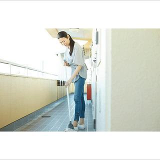 【55分2500円!】共用部清掃_掃き・拭き_11-15世帯@伊...