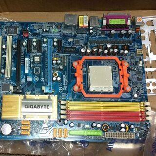 ジャンク PCマザーボード Socket AM2 GA-M57S...