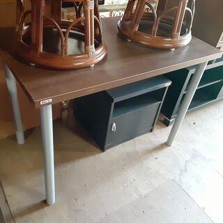 木製 テーブル PCデスク 学習机 作業台 /DJ-0706-2F