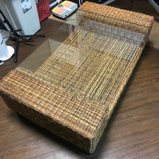 ⭕️お洒落なアジアンテイストのローテーブル ちょっと大きめ!