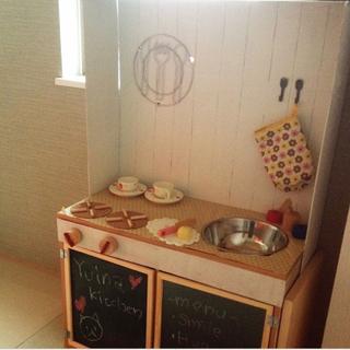 ままごとキッチン DIY