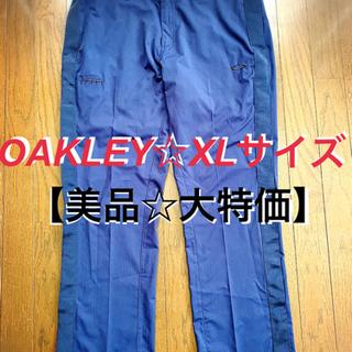 【美品☆特価】 OAKLEY オークリー ゴルフ パンツ XL ...